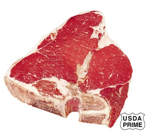 USDA Prime Porterhouse Steak.