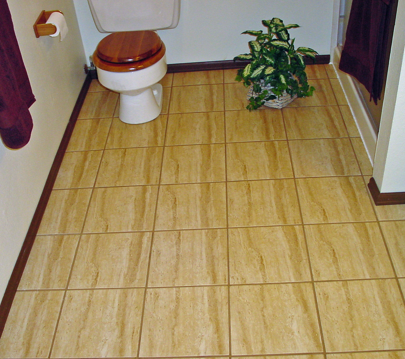 how to lay a floating porcelain or ceramic tile floor over a concrete