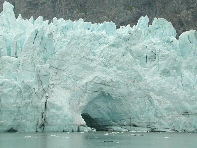 Margerie Glacier, Glacier Bay, Alaska, USA.