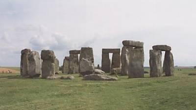 Stonehenge of England.